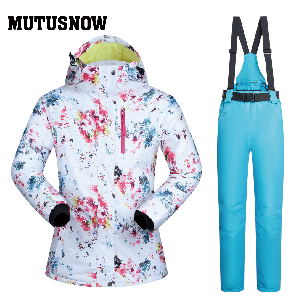 Ski Suits Women Brands Winter 2019 New Snow Female Windproof Waterproof Outdoor Sports Winter Skiing Snowboard Jackets And PantsSki Suits Women Brands Winter 2019 New Snow Female Windproof Waterproof Outdoor Sports Winter Skiing Snowboard Jackets And Pants