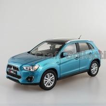 * Синий 1:18 Mitsubishi ASX Pajero 2015 ВНЕДОРОЖНИК Литья Под Давлением Модели Show Car Miniature Toys Classcal Limited Edition