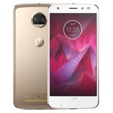 Motorola MOTO Z2 KUVVET XT1789-05 4G LTE akıllı telefon 4 GB RAM 64 GB ROM Snapdragon 835 Octa Çekirdek 5.5 Inç 2 K Ekran Androi...