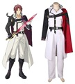 Free Shipping Seraph of the End Crowley Eusford Vampires Uniform Anime Cosplay Costume