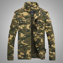 2016 High Quality Amry Style Camouflage Bomber Jackets Men army jacket men Clothes Military Jacket 8932