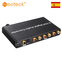 (Ship From Spain/China) Neoteck DAC Support AC 3/ DTS Digital Optical Coaxial to 5.1CH Analog and 3.5mm Jack For HDTV