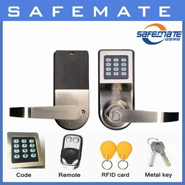 Contemporary Ai lock high end cheap home security automatic remot control door lock system Top Search - Elegant high security door locks Luxury