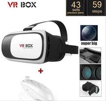 2017 New Google Cardboard VR BOX 2.0 Version VR Virtual Reality 3D Glasses for Android ios iPhone 4.0″-6.0″ Smart phone
