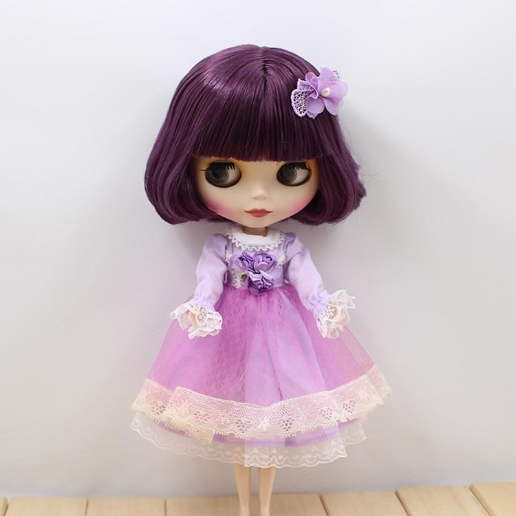 Neo Blythe Doll Lace Flower Dress 6