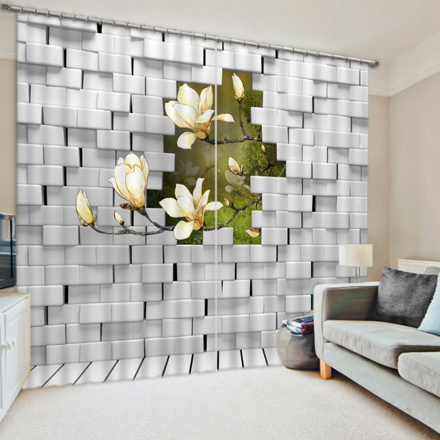 3D Curtains Custom Modern Stereoscopic Curtain Photo Dinosaur Baby Room Home Decor