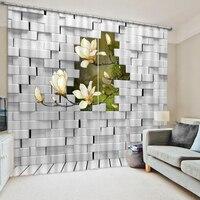 3D Curtains Custom Modern 3D Stereoscopic Curtain Photo dinosaur Curtains Baby Room Curtains Home Decor