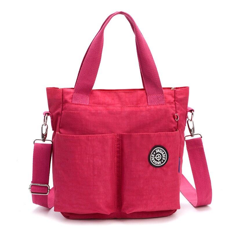 Women Nylon Waterproof Shoulder Bag luxury handbags women Messenger Bags designer Multifunction Zipper Travelbag 5