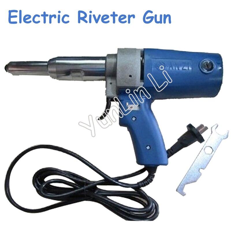 220V Electric Riveter Gun 400W Riveting Tools 7000N PIM-SA3-5 hot sales high quality hand riveter pull rivet nut riveting tools with one m8 die free shipping bt 606