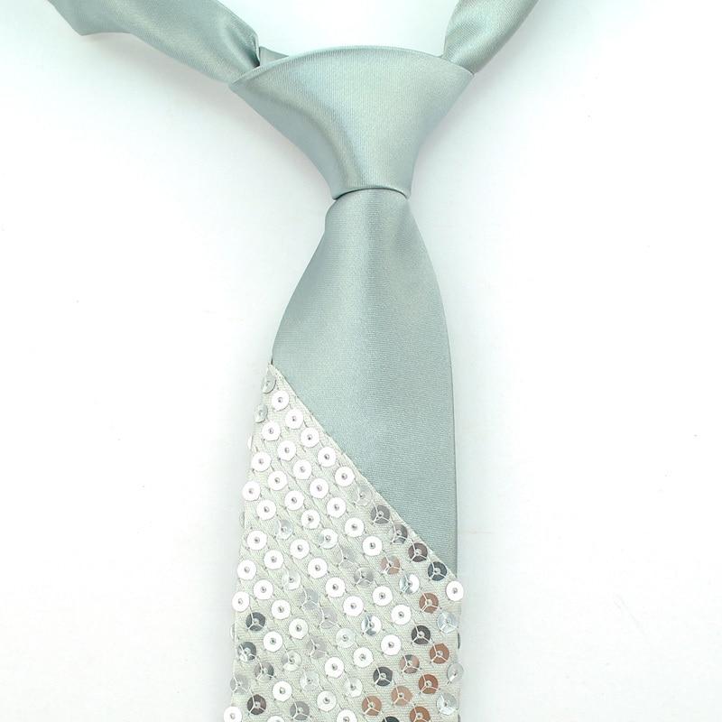 Ανδρικό Unisex Sequin Γραβάτες 12 Χρώματα - Αξεσουάρ ένδυσης - Φωτογραφία 3