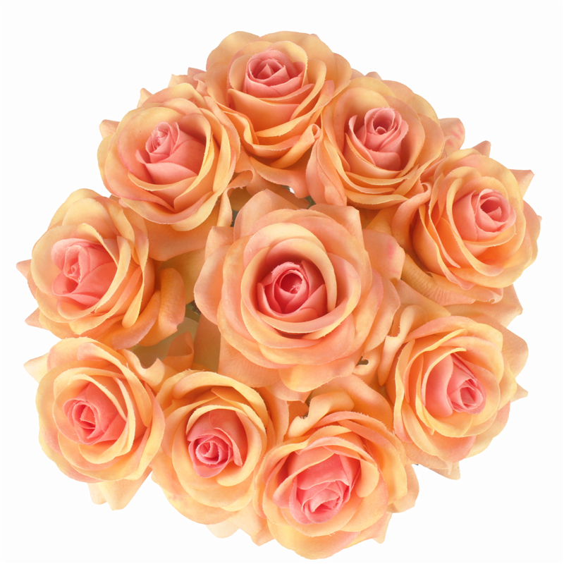 JAROWN Artificial Real Touch Hand Feel Rose Flowers For Valentine`s Day Preparation Wedding Decoration Home Decor (26)