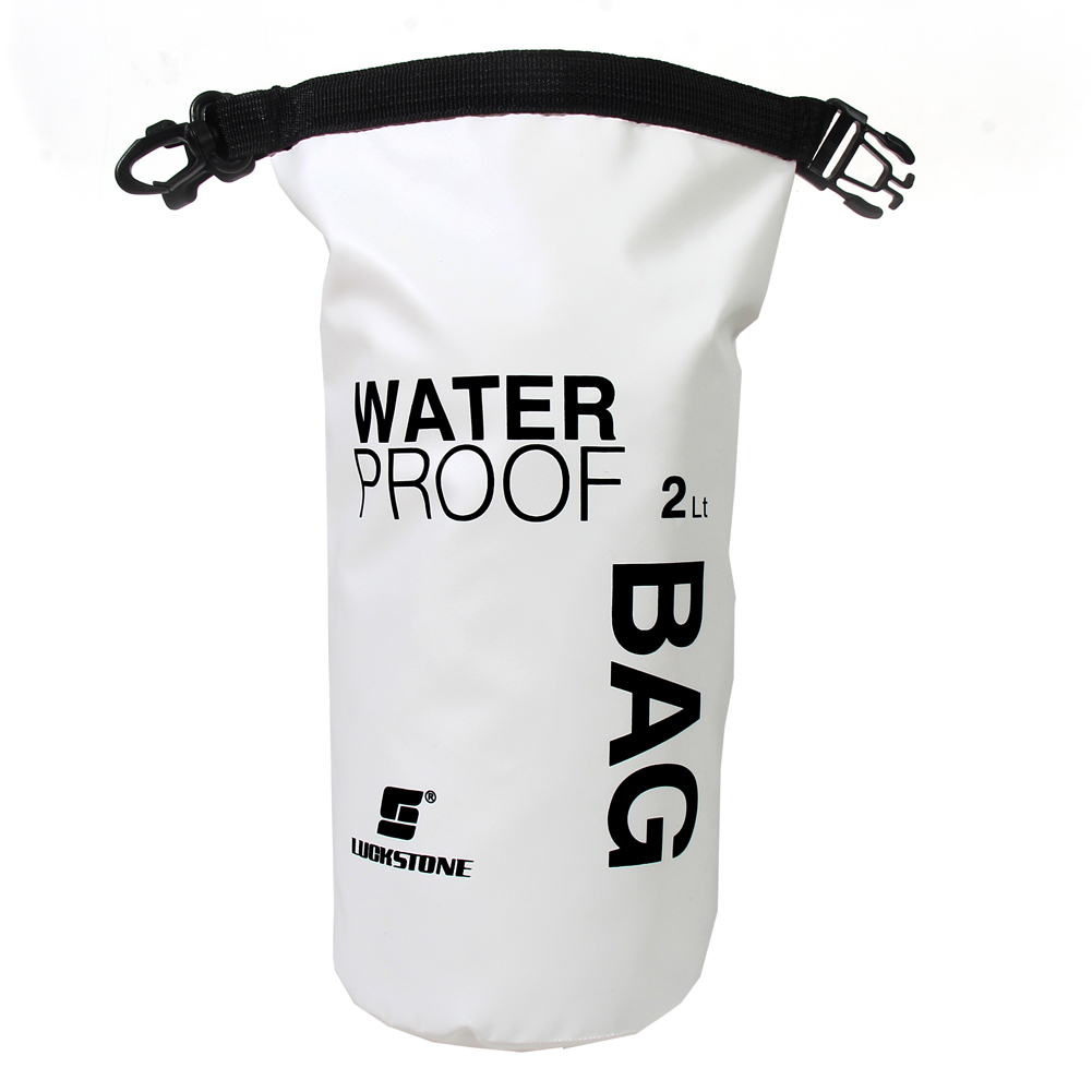 2L Waterproof Backpack Dry Bag Waterproof Bag Rafting PVC Pouch For Camping Hiking Swimming Outdoor Multifuctional Tools