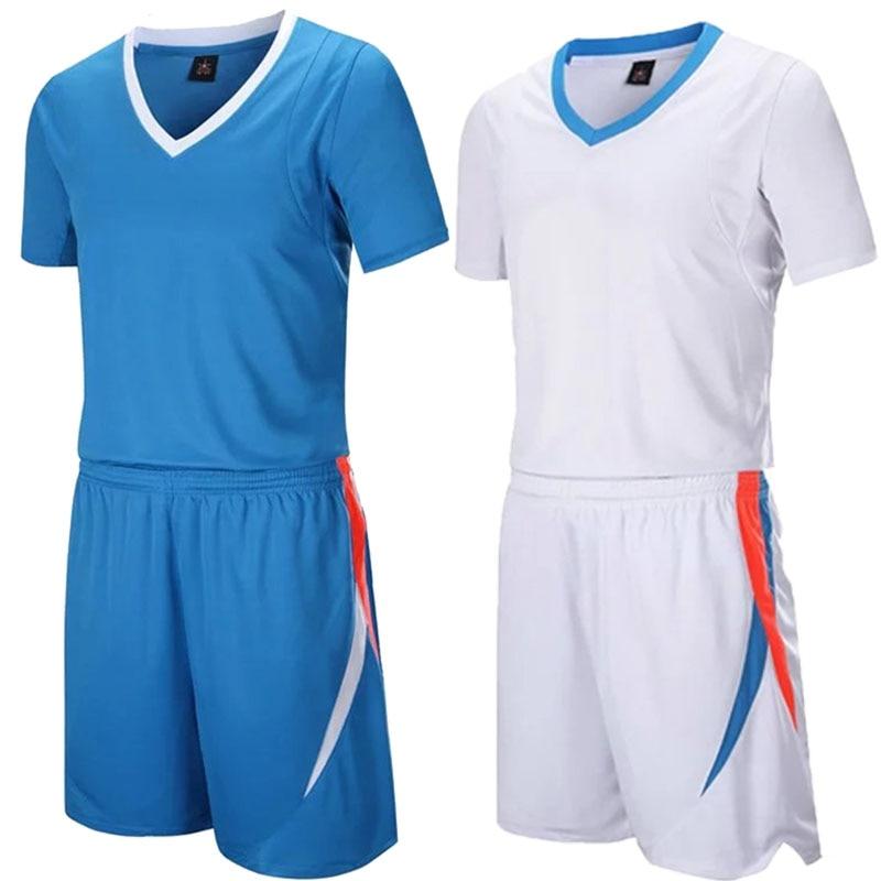 Youth Basketball Sets Boys Professional Short Sleeve Jerseys Shorts Women Sports Trainning Kits Customize Any Logos