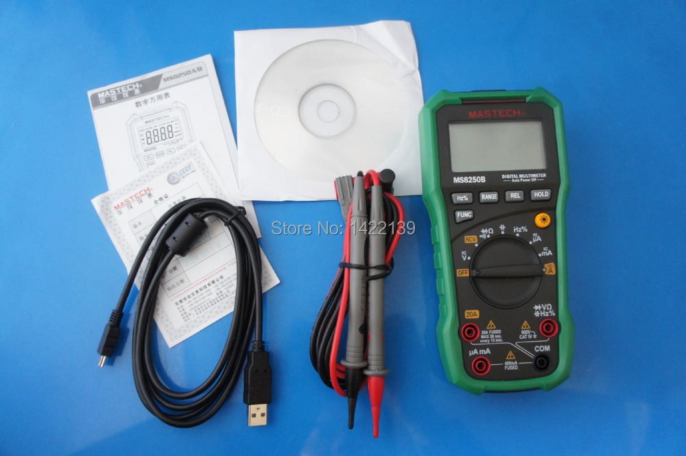 Mastech MS8250B Autoranging Meter Digital Multimeters