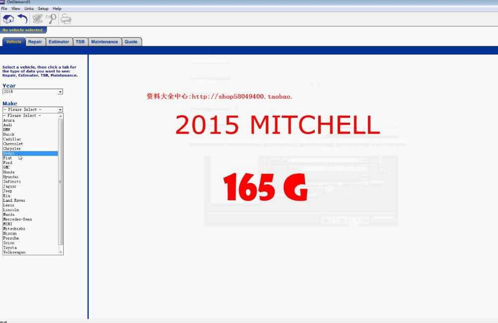 2020 NEW Arrival  Mitchell On Demand Fit Win7/8 Win 10  Car Software With Tech Support Download Online