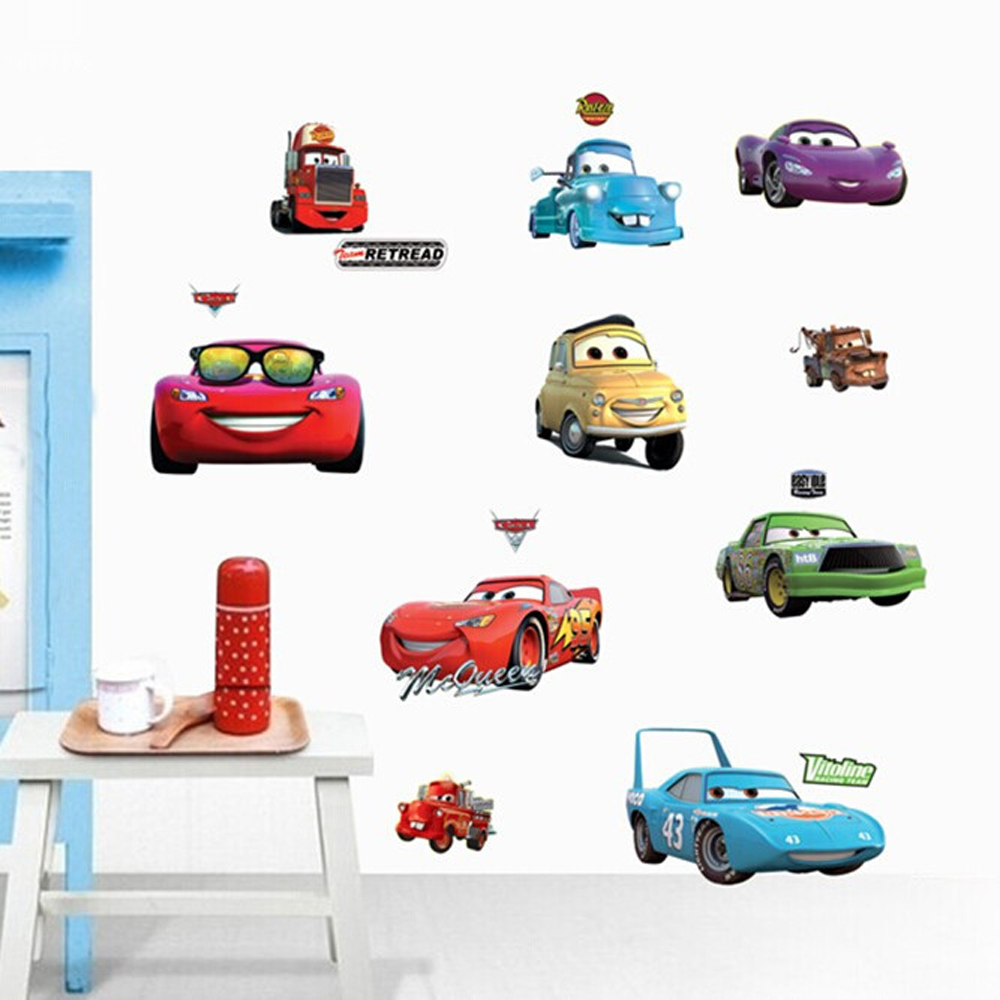 cartoon cars trucks wall decals children u0027s room nursery removable