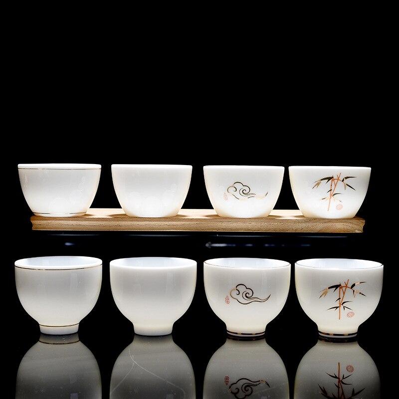 Premium Handpainted Ceramic Gong Fu Tea Cups Set 1