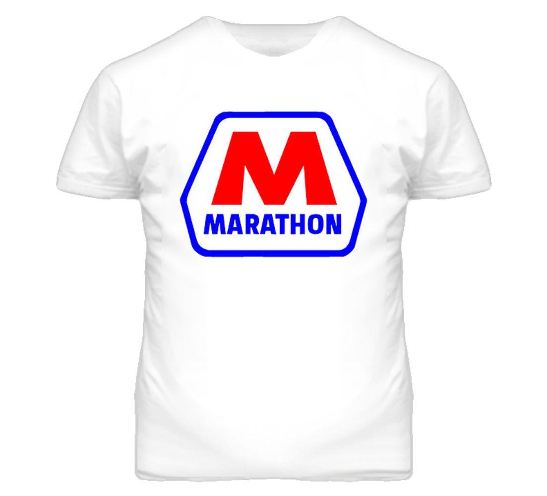 Marathoner gas oil t shirt printed t shirt men cotton t for Where to get t shirts printed