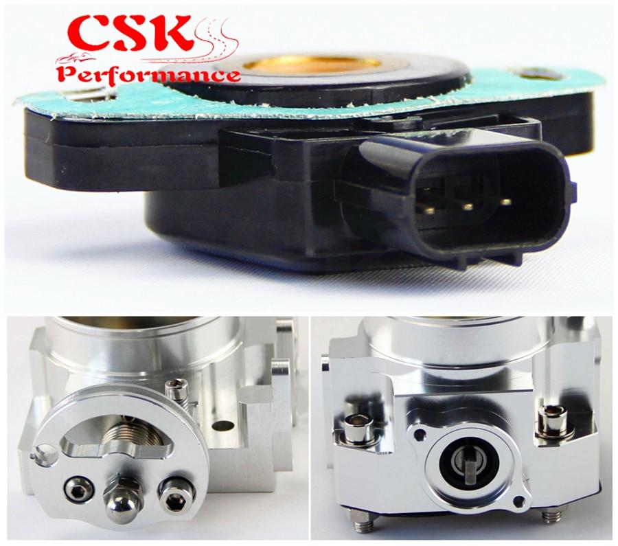 Para Civic Si Rsx Tipo S K20a2 TPS Sensor de posici/ón del acelerador con junta y pernos
