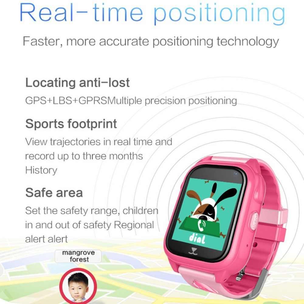 GPS Tracker Children Watch Anti Lost SOS Call Kids Smart Watch Child Watch Tracking Bracelet Smartwatch Support SIM Card