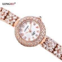 Fashion Luxury Women Glitter Bracelet Watch Rhinestone Ladies Female Bling Crystal Dress Leisure Wristwatch Relogio Clock OP001