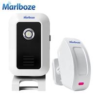 New Wireless 433mhz Split Welcome Doorbell Alarm Night Light Infrared IR Motion Sensor Entry Doorbell Reach