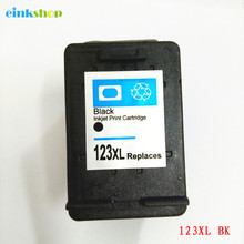 einkshop 123 xl BK Compatible Ink Cartridge Replacement For HP 123xl Deskjet 1110 2130 2132 2133 2134 3630 3632 3638 3830 4520