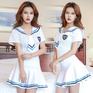 Image 4 - 2018新しいセクシーなランジェリー女の子学校セーラー制服ファッションスクールクラス海軍コスプレwoaixddセクシーな学校制服