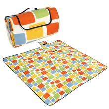 200x200CM Waterproof Folding Picnic Mat Outdoor Camping Beach Moisture-proof Blanket Portable Travel BBQ