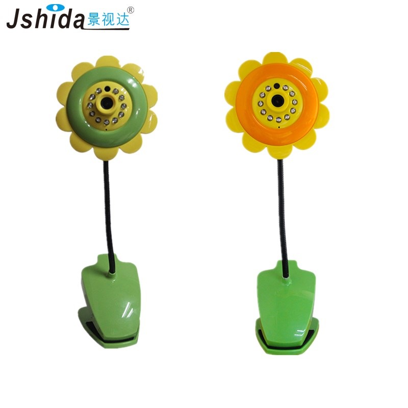 Hot sale Cute Flower Design Wireless WiFi Baby Monitor IP Camera 720P Home Security Night Vision wifi baby monitors support iOS