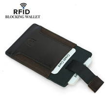 Women wallet leather purses  multi-card bank RFID business card holder pouches and handbags