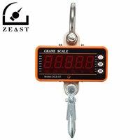 1000KG 2000LBS Hanging Scale Digital LCD Crane Scale High Precision Heavy Duty