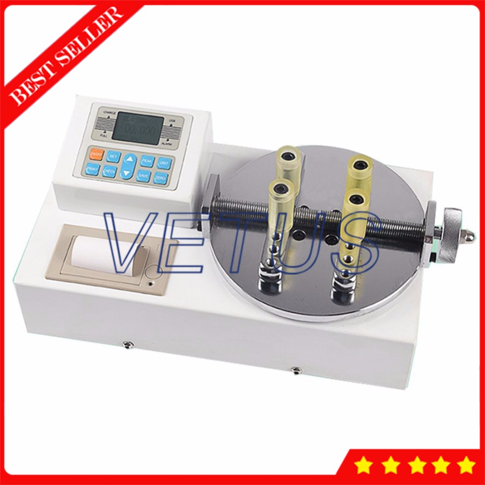 Built in Printer Intelligent Test Tubes Screw Cap Testing Machine Digital Bottle Lid Torque Meter Gauge ANL P5