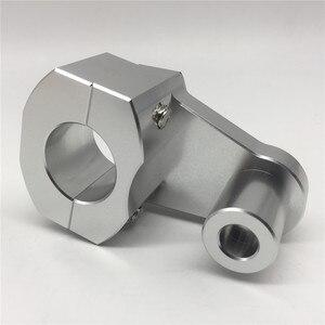 Image 4 - Universal Anodized 2 Inch Pivoting Motorcycle Handlebar Riser For 22mm or 28mm  Bars Clamp for suzuki yamaha kawasaki bmw honda
