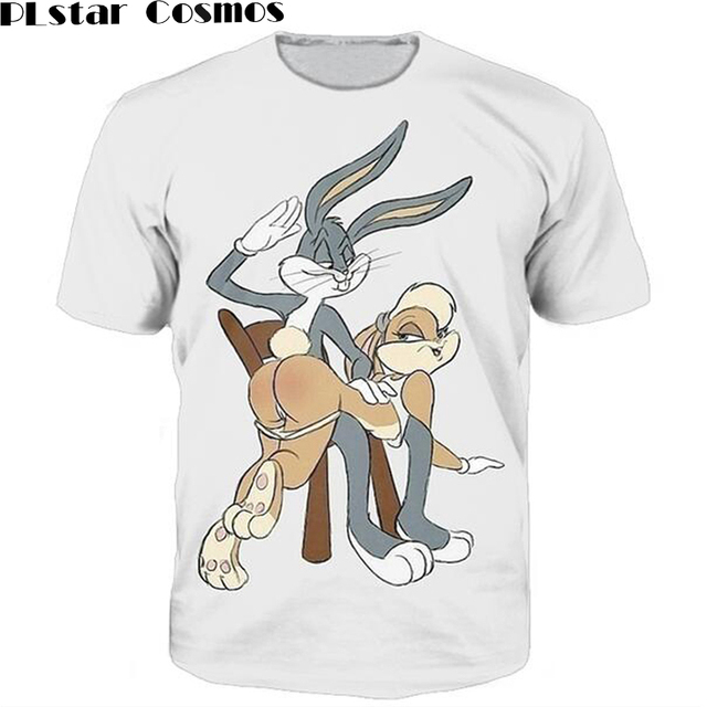 plstar cosmos lola tee buggs bunny lola bunny spanking 3d print t shirt women men unisex tops t. Black Bedroom Furniture Sets. Home Design Ideas