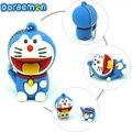 4gb8gb bellek Doraemon de dibujos animados usb flash drive de disco 16 gb 32 gb Pen drive memory stick pendrive personalizado para la computadora tablet