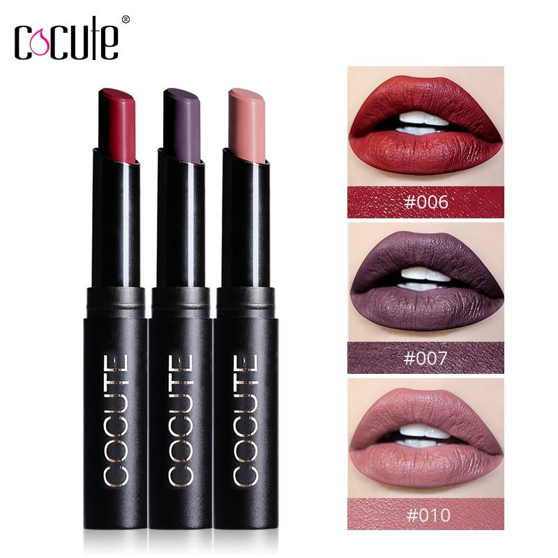 2018 Brand Matte Moisturizer Waterproof Lipstick