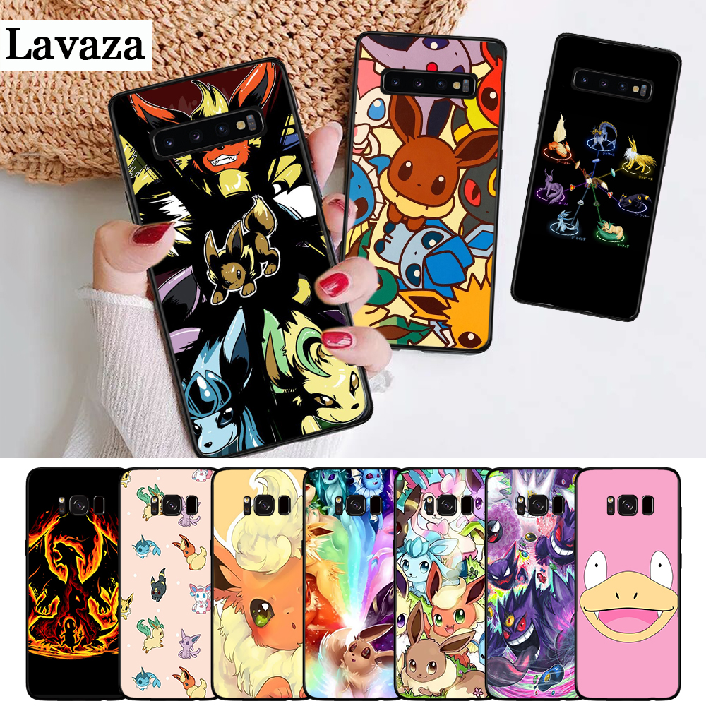 lavaza-cartoon-font-b-pokemons-b-font-eevee-pika-silicone-case-for-samsung-s6-edge-s7-s8-plus-s9-s10-s10e-note-8-9-m10-m20-m30
