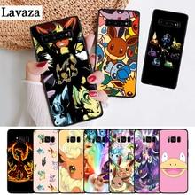Lavaza cartoon pokemons eevee pika Silicone Case for Samsung S6 Edge S7 S8 Plus S9 S10 S10e Note 8 9 10 M10 M20 M30 M40