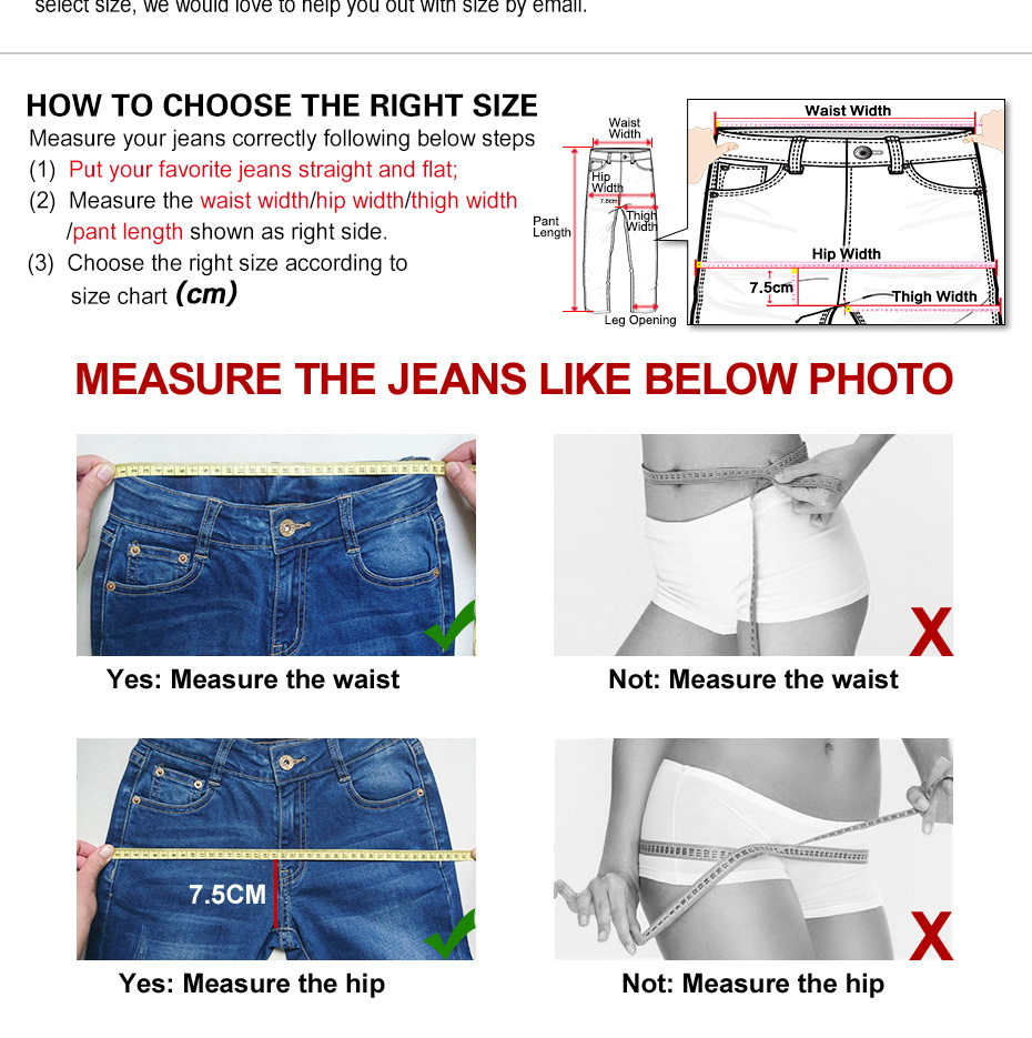 New arrival boyfriend jeans for women Mid waist jeans loose style low elastic puls size jeans womans Causal full length jeans 4