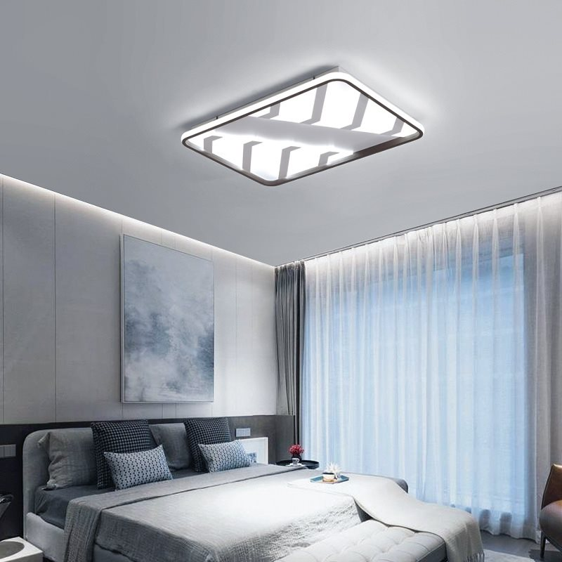 Ceiling light Square dimming remote control luxury lobby creative simple Overhead hanging hotel home modern led ceiling lampCeiling light Square dimming remote control luxury lobby creative simple Overhead hanging hotel home modern led ceiling lamp