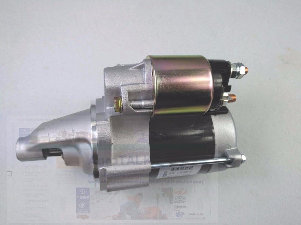 the starter motor engine LJ276MT 2 LJ368Q part number