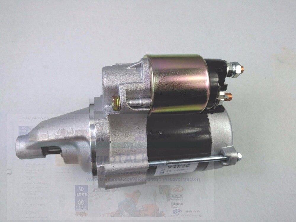 the starter motor engine LJ276MT-2/LJ368Q, part number: the starter motor engine LJ276MT-2/LJ368Q, part number: