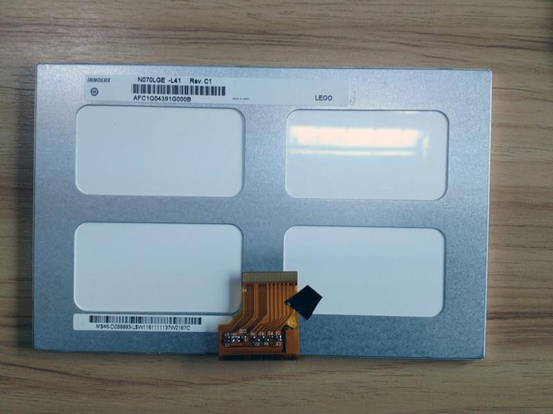 7 palcový LCD displej N070LGE-L41 s plochou obrazovkou n070lge