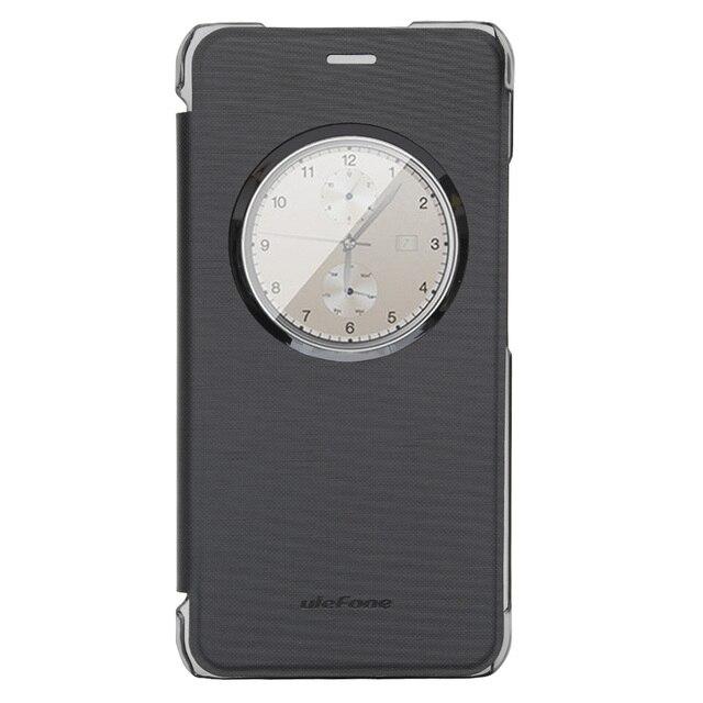 100% Original ulefone paris Phone Case couro stand Back Case capa para Original ulefone paris caso capa protetora