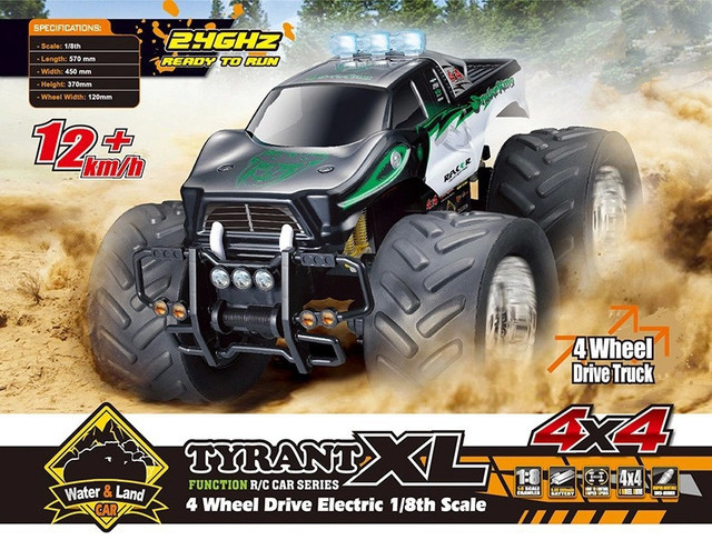 High-end RC Off-road vehicle car 0755a 1/8 super large 2.4G 4WD RC Crawler RTR Toy  RC Car Bigfoot climbing car for kids toy