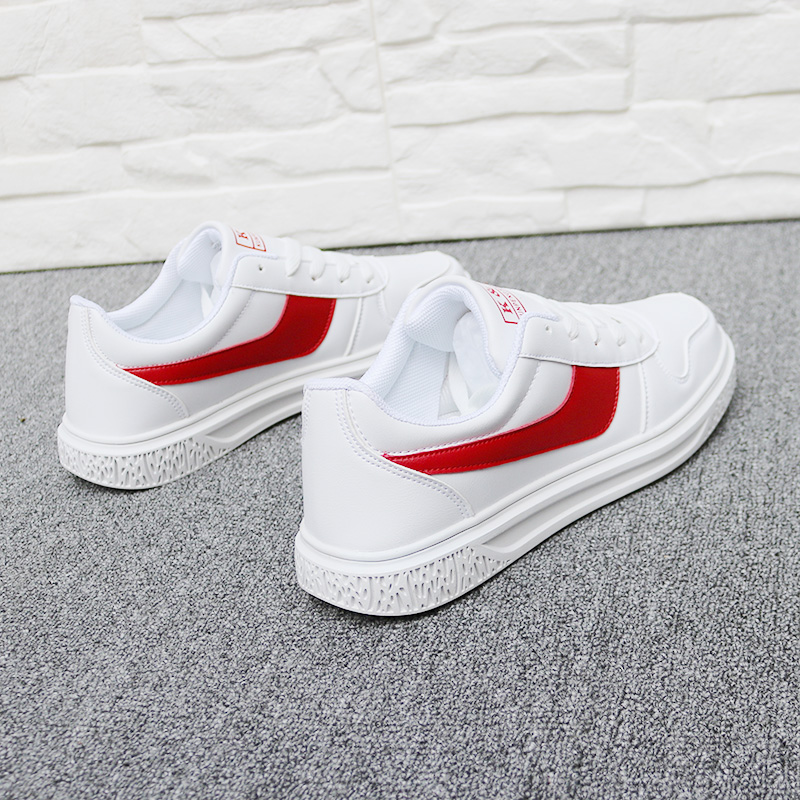 Spring and autumn breathable men's shoes 2019 spring new shoes Korean version of the wild sports shoes white shoes tide shoes
