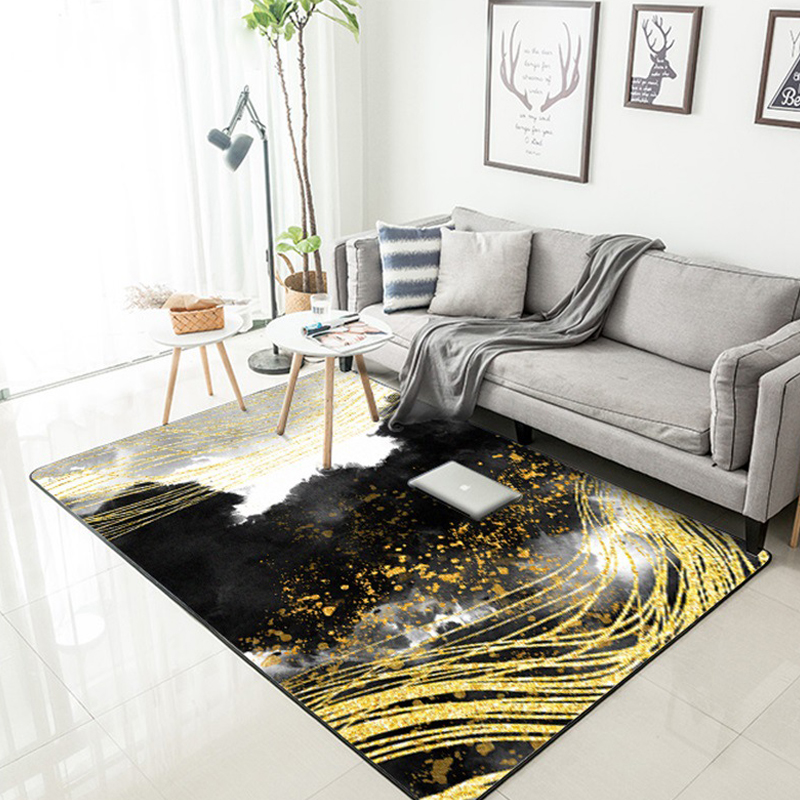 Modern minimalist Chinese ink area carpet living room table full bedroom bedside rug home kitchen bathroom floating window mat in Carpet from Home Garden