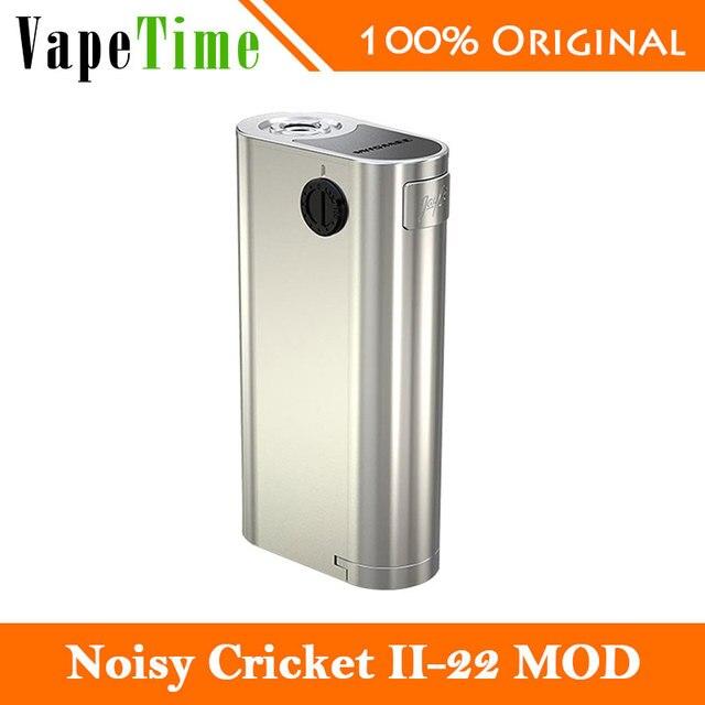 2017 НОВЫЙ WISMEC Noisy Крикет II-22 MOD Электронная Сигарета Noisy Крикет 2 Коробка Мод 510 Нить Простой Vaping Окно Мод БЕЗ Батареи