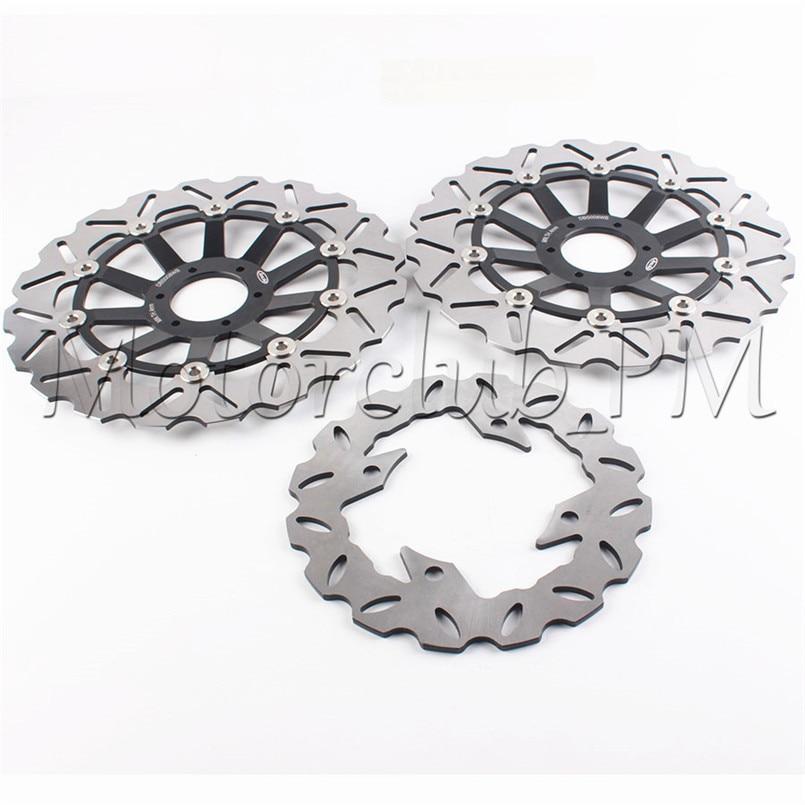 Motorcycle Front&Rear Brake Disc Set Rotors Pats For Honda CBR600 F3 95-98 96 97 CBR900RR 94-97 95 96 CB 600 HORNET Accessories